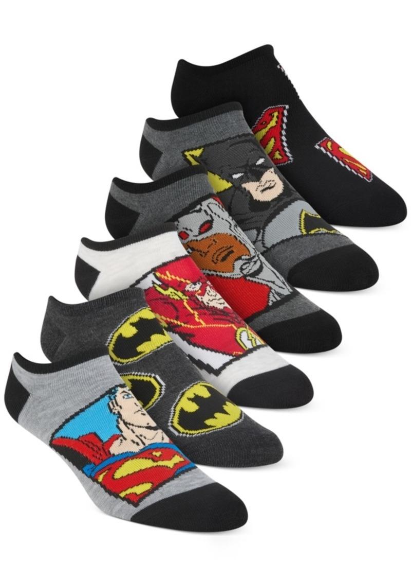 Disney Little Boys 6-Pk. Justice League No-Show Socks