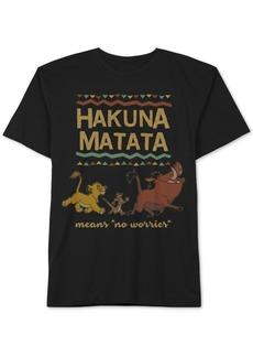 Disney Little Boys Hakuna Matata Graphic Cotton T-Shirt