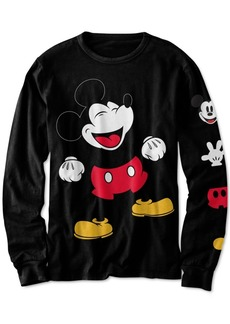 Disney Little Boys Laughing Mickey Mouse T-Shirt