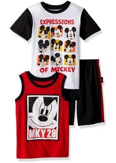 Disney Little Boys' Mickey 3 Piece Short Set
