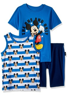 Disney Boys' Little Mickey 3 Piece Short Set