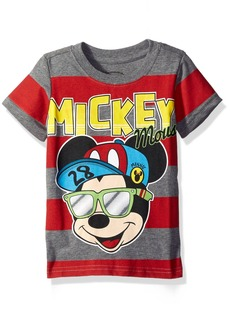 Disney Little Boys' Mickey Mouse 1928 Inch Toddler Boys Stripe T-Shirt