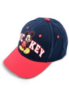 Disney Boys' Little Mickey Mouse Cotton Baseball Cap