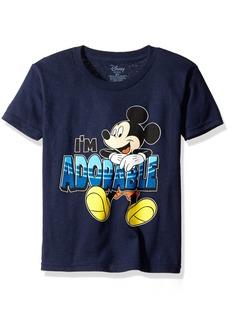 Disney Little Boys' Mickey Mouse I'M Adorable Toddler Boys T-Shirt
