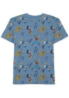 Disney Little Boys Mickey Mouse Printed T-Shirt