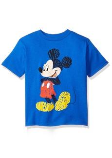 Disney Little Boys' Mickey Mouse Short Sleeve T-Shirt  L
