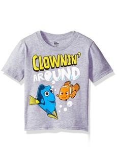 Disney Little Boys' Toddler Finding Dory T-Shirt Heather Grey