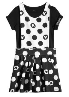 Disney Little Girls 2-Pc. Mickey Dress