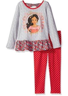 Disney Little Girls' 2 Piece Elena of Avalor Space Dye Legging Set
