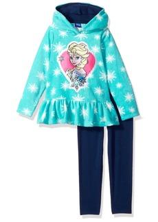 Disney Little Girls' 2 Piece Elsa Fleece Set