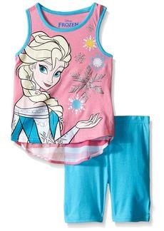 Disney Girls' 2 Piece Frozen Short Set
