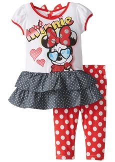 Disney Girls' Minnie Mouse 2-Piece Legging Set