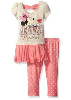 Disney Little Girls' 2 Piece Mouse Legging Set