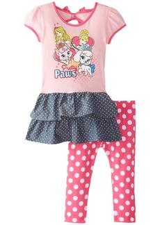 Disney Girls' 2 Piece Princess Legging Set
