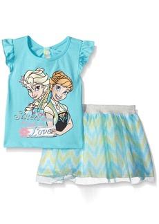 Disney Girls' Frozen 2-Piece Scooter Skirt Set