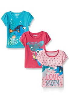 Disney Little Girls' 3 Pack Of Finding Dory T-Shirts