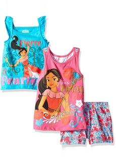 Disney Little Girls' 3 Piece Elena of Avalor Short Set