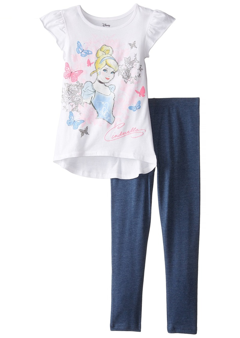 Disney Little Girls' Cinderella Top and Legging Set