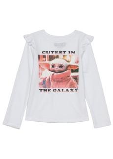 Disney Little Girls Cutest Child Long Sleeve T-shirt