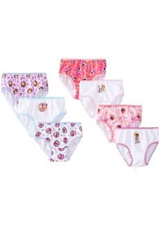 Disney Little Girls'  Disney Jr Multi 7 Pack Panty