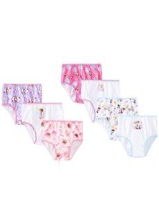 Disney Little Girls JR Multi 7 Pack Panty Toddler  2/3T