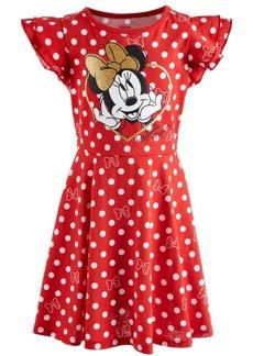 Disney Toddler Girls Dot-Print Minnie Mouse Dress