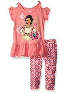 Disney Little Girls' Elena 2 Piece Legging Set