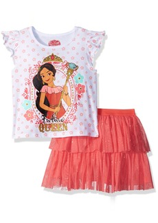 Disney Girls' Little Elena 2 Piece Skirt Set  6X