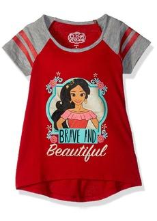 Disney Little Girls' Elena Of Avalor Short Sleeve Tee Shirt