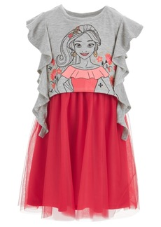 Disney Little Girls Elena Ruffle-Sleeve Dress