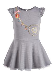 Disney Little Girls Fancy Nancy Purse Dress
