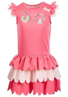 Disney Little Girls Fancy Tiered Ruffle Dress