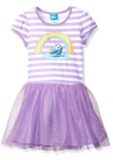 Disney Little Girls' Finding Dory Rainbow Dress