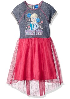 Disney Little Girls' Follow Frozen Elsa Heart Dress