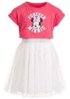 Disney Little Girls Forever Minnie Mesh T-Shirt Dress