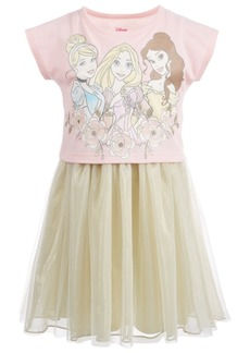 Disney Little Girls Layered-Look Princesses Dress