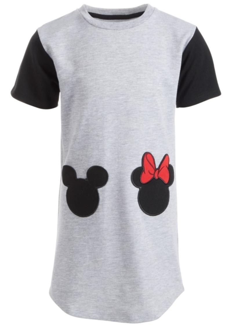 Disney Little Girls Mickey & Minnie Mouse Dress