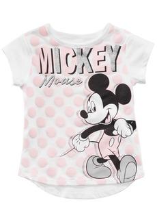 Disney Little Girls Mickey Mouse T-Shirt