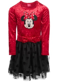 cfde6346b Disney Toddler Girls Minnie Mouse Crushed Velvet Dress, Created for Macy's