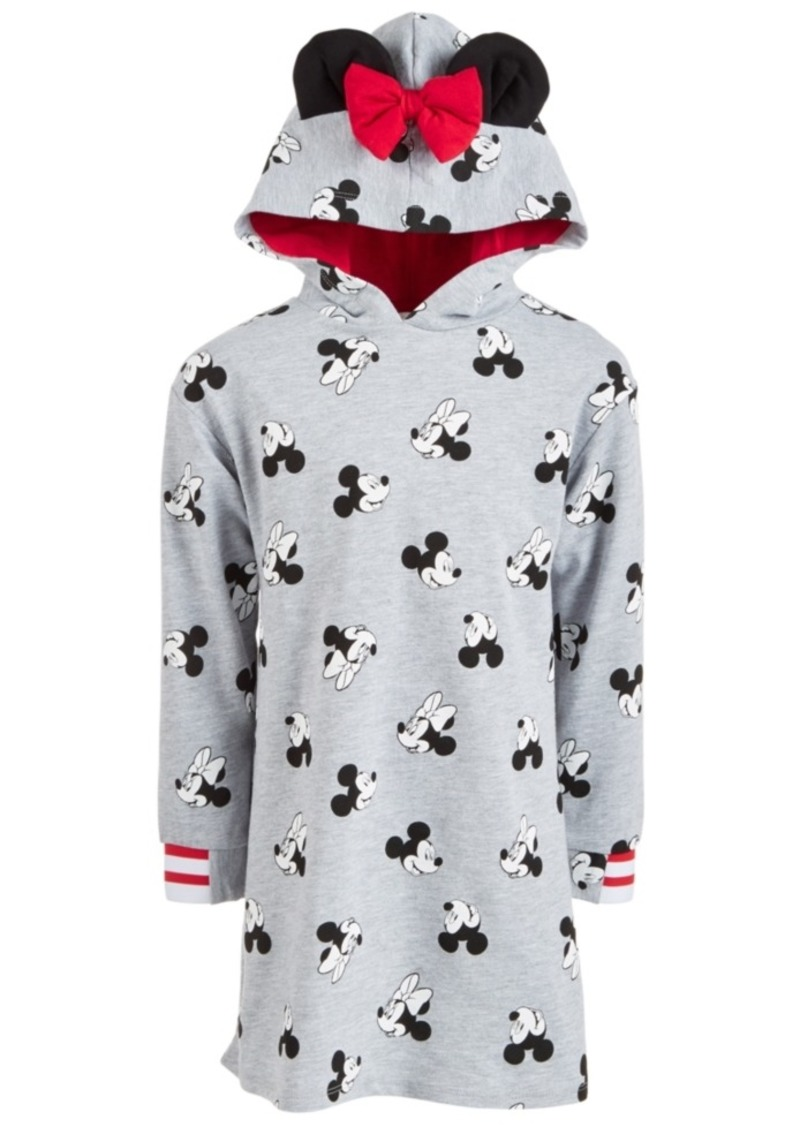Disney Toddler Girls Minnie Mouse Hooded Sweatshirt Dress