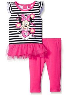 Disney Little Girls' Minnie Mouse Legging Set