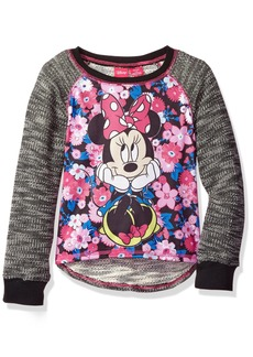 Disney Little Girls' Minnie Mouse Long-Sleeve Pullover