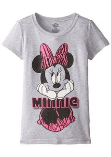 Disney Little Girls' Minnie Mouse Minnie Short Sleeve T-Shirt