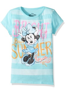 Disney Little Girls' Minnie Mouse Short Sleeve
