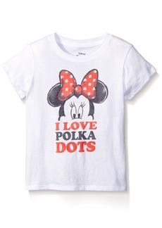 Disney Little Girls Minnie Mouse Short Sleeve T-Shirt Shirt