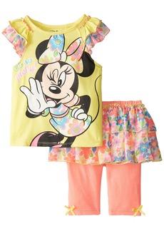 Disney Little Girls' Minnie Skegging Set