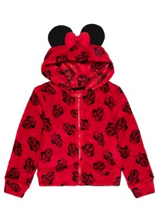 Disney Toddler Girls Minnie Toss Zip Hoodie
