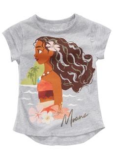 Disney Little Girls Moana Graphic-Print T-Shirt