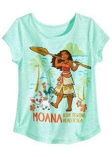 Disney Little Girls Moana T-Shirt