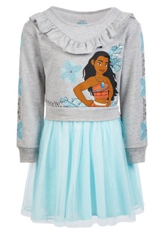 Disney Little Girls Moana Tutu Dress
